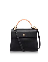 Tory Burch Handbags Parker Color Block Leather Small Satchel Bag