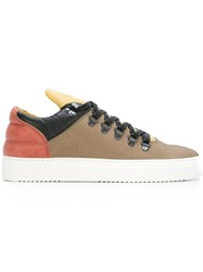 Filling Pieces 'Mountain Cut' Sneakers Nude And Neutrals