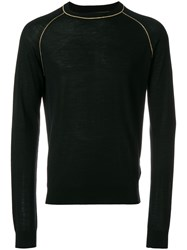 Dsquared2 Lurex Piped Jumper Black
