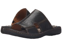 Born Jared Black Full Grain Leather Men's Sandals