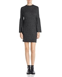 B Collection By Bobeau Bell Sleeve Sweater Dress 100 Exclusive Charcoal
