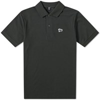 Patta Pointelle Polo Green