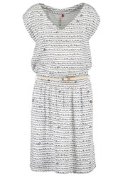 Ragwear Carolina Summer Dress White Off White
