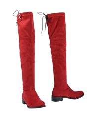 Divine Follie Boots Red