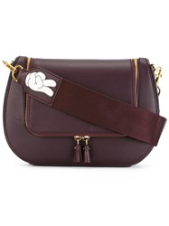 Anya Hindmarch Vere Crossbody Bag Brown