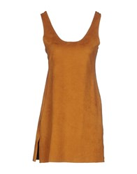Vicolo Dresses Short Dresses Women Brown
