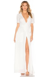 The Jetset Diaries Freebird Maxi Dress White