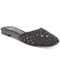 Xoxo Percy Slide Flat Sandals Women's Shoes Black
