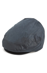 Barbour Waxed Cotton Driving Cap Navy