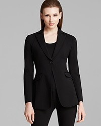 Armani Collezioni Blazer One Button Black