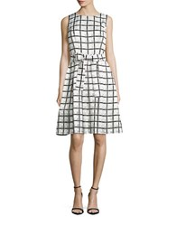 Tommy Hilfiger Printed Fit And Flare Dress