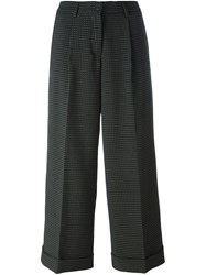 P.A.R.O.S.H. Micro Patterned Trousers Green
