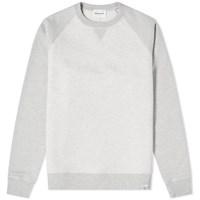Norse Projects Ketel Contrast Sleeve Sweat Grey