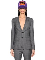 Dsquared Prince Of Wales Cool Wool Suit