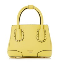 Dune Dinidipley Small Scallop Tote Bag Yellow