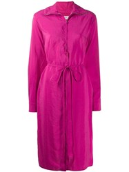 Christophe Lemaire Zipped Dress Pink