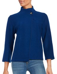 Karl Lagerfeld Wool Blend Cardigan Atlantic