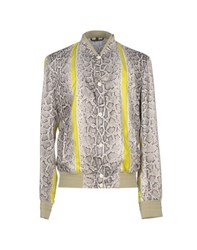 Roberto Cavalli Coats And Jackets Jackets Men Light Grey