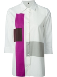 N 8 Color Block Shirt