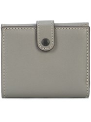 Coach Small Trifold Wallet Grey