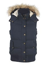 Fat Face Heritage Gilet Blue