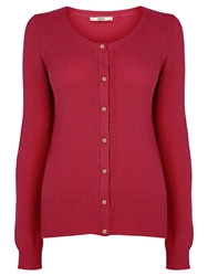 Oasis Texture Cardigan Bright Pink