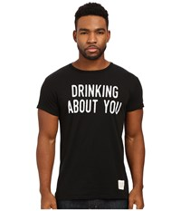 The Original Retro Brand Drinking About You Short Sleeve Vintage Cotton Tee Black Men's T Shirt