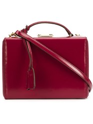 Mark Cross 'Grace' Tote Bag Red
