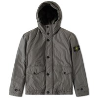 Stone Island Micro Reps Insulated Hooded Jacket Grey