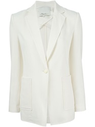 3.1 Phillip Lim Lightweight Crepe Blazer Nude And Neutrals