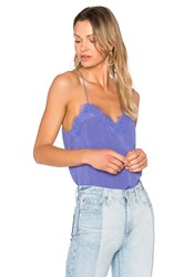 Cami Nyc Racer Lace Purple