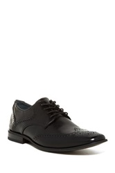 Giorgio Brutini Blucher Wing Tip Oxford Black