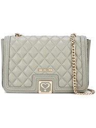Love Moschino Quilted Shoulder Bag Green