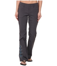 Prana Amira Pant Coal Women's Casual Pants Gray