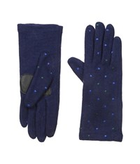Echo Touch Pop Dot Gloves Navy Extreme Cold Weather Gloves