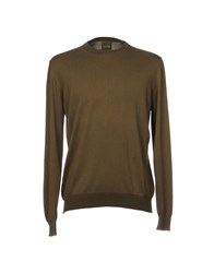 Alpha Studio Sweaters Military Green