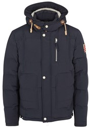 True Religion Navy Quilted Shell Jacket