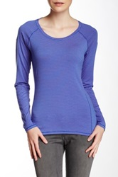 Columbia Layer First Striped Long Sleeve Tee Blue
