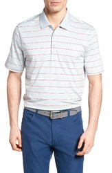 Cutter And Buck Men's Friday Harbor Stripe Polo