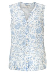 East Antoinette Sleeveless Shirt White