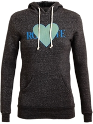 Rodarte Heart Motif Sweatshirt Grey