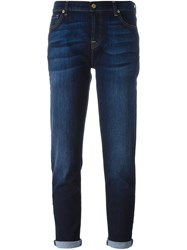 7 For All Mankind 'Josefina' Boyfriend Jeans Blue