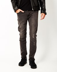 Cheap Monday Tight Meltdown Jeans Black