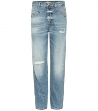 Closed Pedal Icon '85 Distressed Jeans Blue
