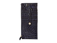 Brahmin Credit Card Wallet Ink Wallet Handbags Navy