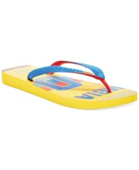 Havaianas Teams Ii Sandals Men's Shoes Yellow Citrus Ruby Red