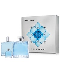 Azzaro 3 Pc. Chrome Holiday Gift Set