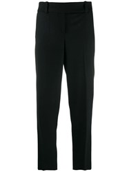 Ermanno Scervino High Waisted Pleated Trousers Black