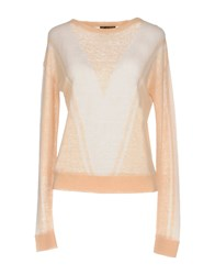 Le Mont St Michel Sweaters Salmon Pink