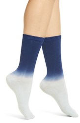 Richer Poorer Dakota Crew Socks Blue